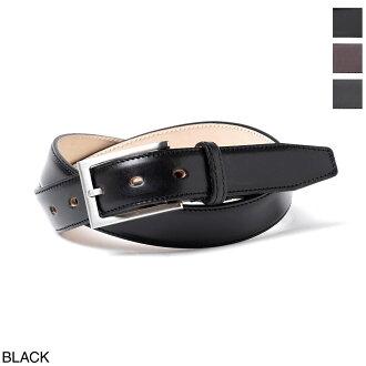 Glenn royal GLENROYAL belt men leather genuine leather accessories work casual gift present 06 5480 black LEATHER