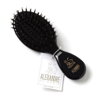 Alexander do Paris ALEXANDRE DE PARIS hairbrush BROSSE BLACK black system nbrs 50044 05 n Lady's