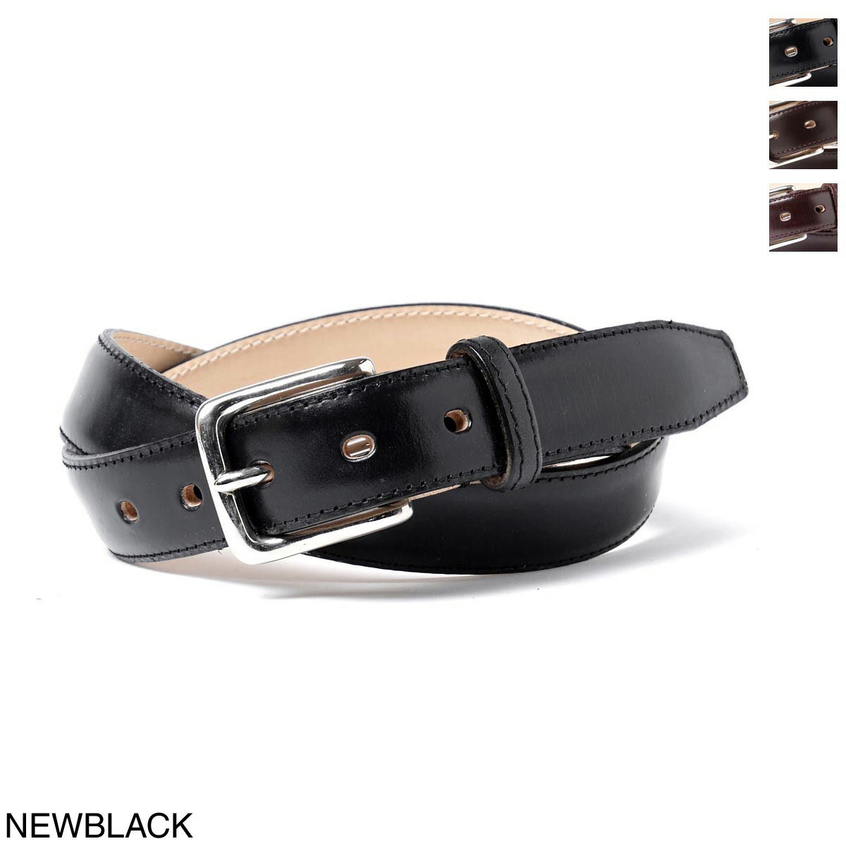 グレンロイヤル GLENROYAL ベルト メンズ プレゼント ギフト 06 6234 black LEATHER【ラッピング無料】【返品送料無料】【あす楽対応_関東】