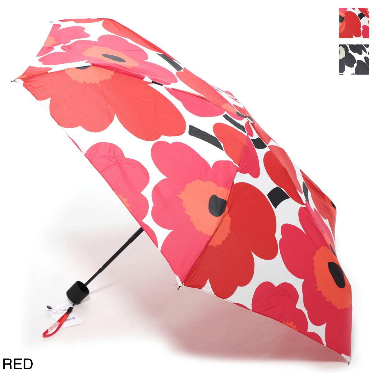 マリメッコ marimekko 折りたたみ傘 レディース 傘 雨 ミニ 38654 001 PIENI UNIKKO ウニッコ【あす楽対応_関東】【ラッピング無料】【返品送料無料】【190108】