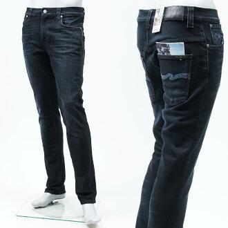 牛羚D牛仔裤nudie jeans co jippufuraijinzu THIN FINN MORTAL INDIGO蓝色派111860人
