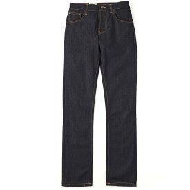 【アウトレット】ヌーディージーンズ nudie jeans co ボタンフライ ジーンズ ブルー メンズ デニム カジュアル オーガニック grim tim 112223 GRIM TIM SLIM REGULAR FIT グリムティム スリムレギュラー フィット レングス32【返品送料無料】【ラッピング無料】
