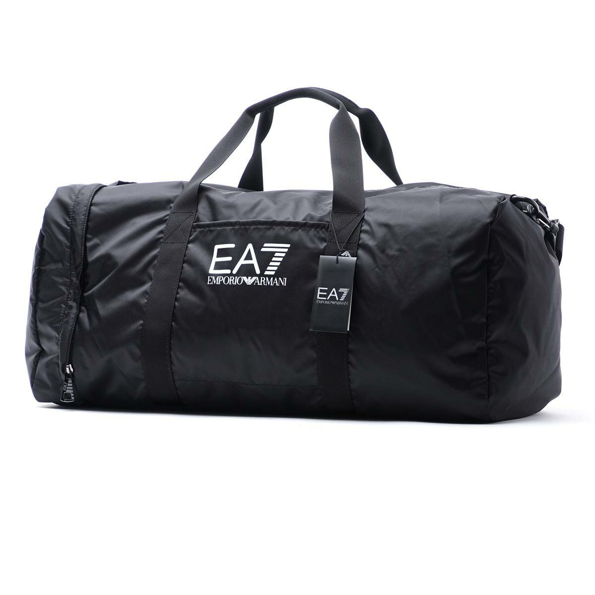 エンポリオアルマーニ EA7 EMPORIO ARMANI ボストンバッグ 2WAY スポーツバッグ ジムバッグ ブラック メンズ 275668 cc733 00020【ラッピング無料】【返品送料無料】【171220】【あす楽対応_関東】