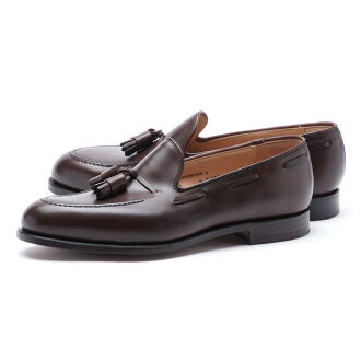 Crockett&Jones CROCKETT&JONES流苏低毛皮CAVENDISH卡文迪许E最后325 DARKBROWN棕色派cavendish burnishedcalf darkbrown人