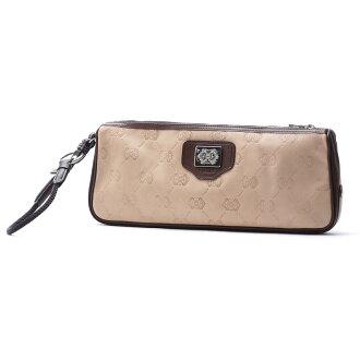 オロビアンコ Orobianco clutch bag 2X644-1601 NATURALE beige system 2x 644 16 01 unique leather naturale nylon tmoro new vachette castagna men