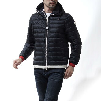 Monk rail MONCLER hooded down jacket EVRARD LONGUE SAISON NAVY blue system evrard 4193899 53279 776 men