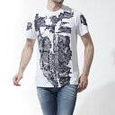 ディーゼル DIESEL クルーネックTシャツ T-JOE-ND WHITE ホワイト系 t joe nd 00svr9 0tamj 100 メンズ【あす楽対応...