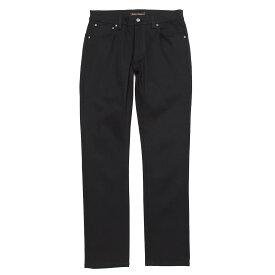 ヌーディ—ジーンズ nudie jeans co ジップフライジーンズ ブラック メンズ 大きいサイズあり thin finn 112303 THIN FINN ORGANIC レングス32【あす楽対応_関東】【返品送料無料】【ラッピング無料】