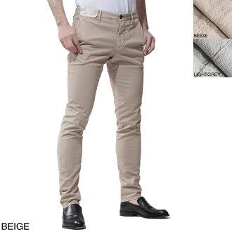 鸚鵡紡績品褲子INCOTEX SLACKS jippuraipantsu SKIN FIT皮膚合身1st691 90667人