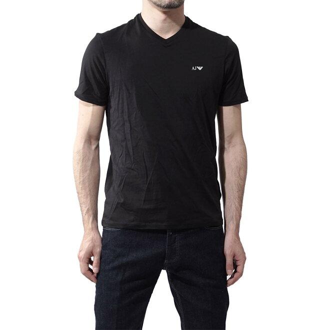 ARMANI JEANS DOUBLE PACK T-SHIRT V字领T恤2件装