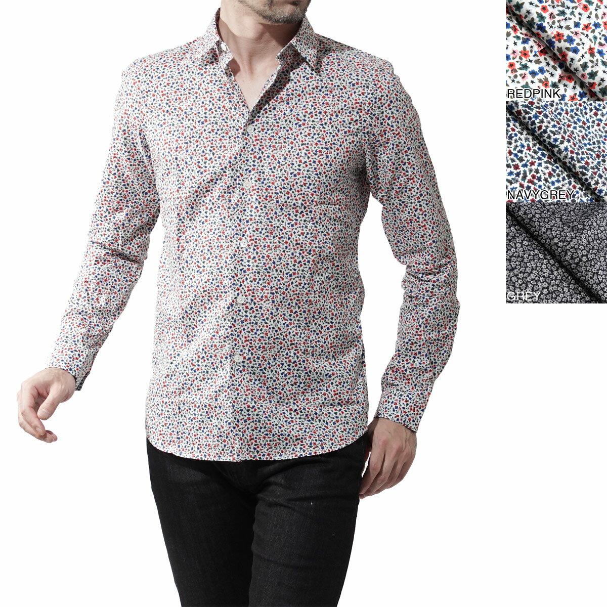 ポールスミス Paul Smith レギュラーカラーシャツ カジュアルシャツ タイニーカラーシャツ MEN SHIRT SLIM LSLV psxd433r 454 メンズ【ラッピング無料】【返品送料無料】【あす楽対応_関東】