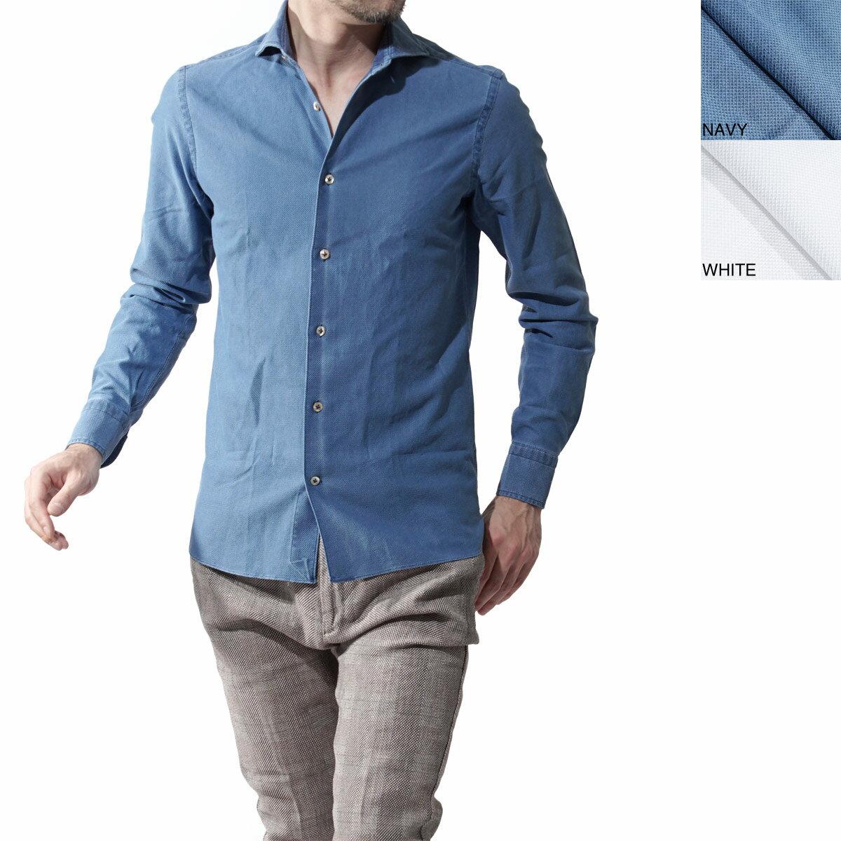 ボリエッロ BORRIELLO ワイドカラーシャツ s10 4061 メンズ【ラッピング無料】【返品送料無料】【170331】【あす楽対応_関東】