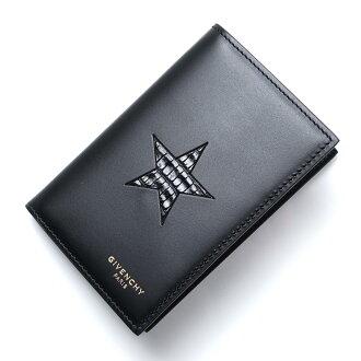 基蓬西GIVENCHY卡片匣LEATHER BLACK黑色派bk06001323 001人