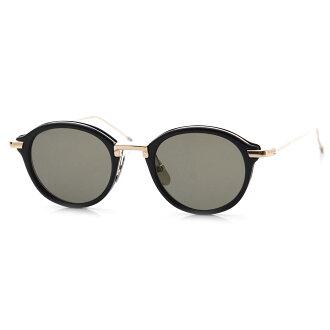 Tom Browne THOM BROWNE. Sunglasses black men tb 011 a t blk gld Oval