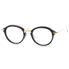 トムブラウン THOM BROWNE. 眼鏡 メガネ ブルー メンズ 黒 tb 011 f nvy gld ボストン【返品送料無料】【ラッピング無料】【20190709】