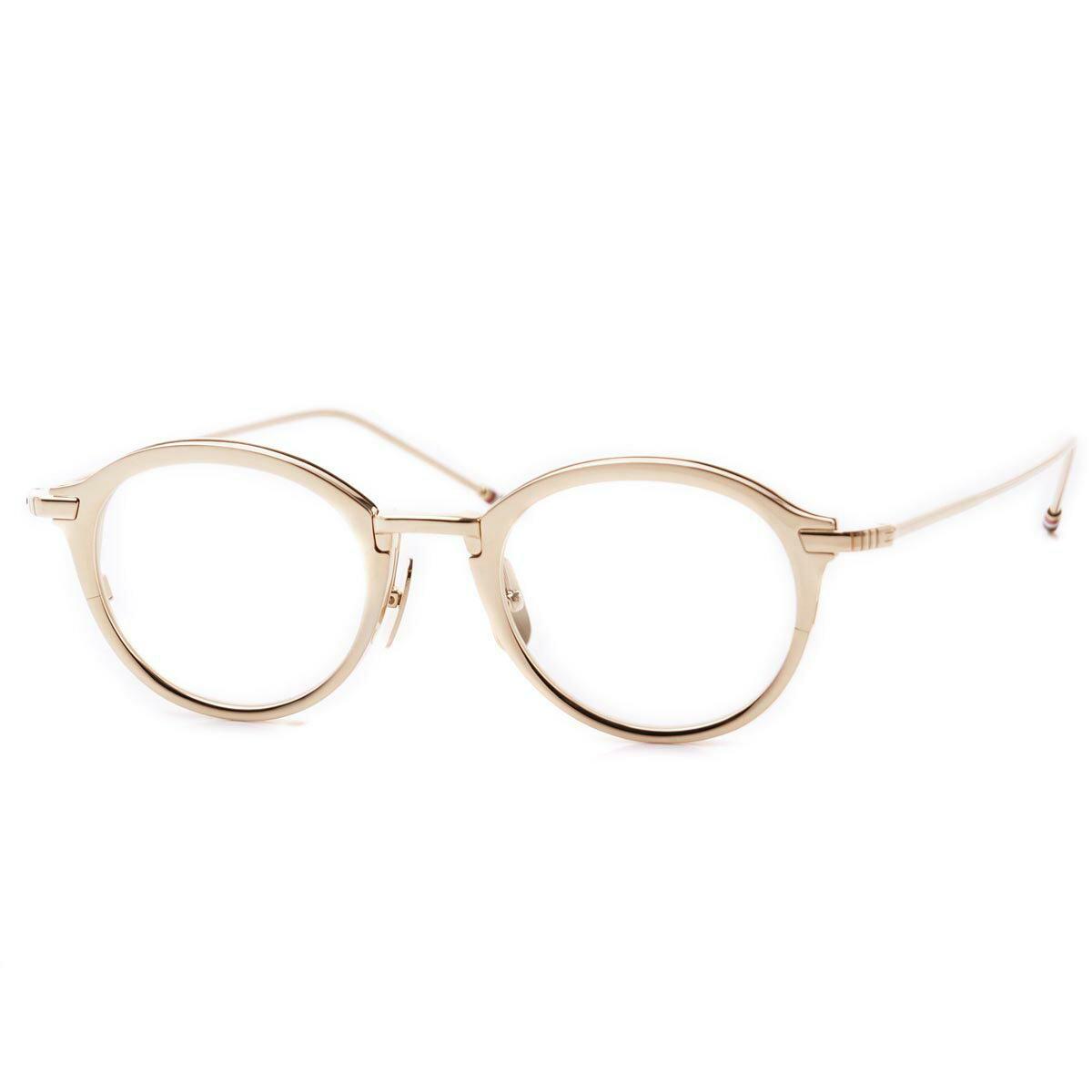 トムブラウン THOM BROWNE. 眼鏡 メガネ めがね ゴールド メンズ デザイン モード おしゃれ ギフト プレゼント tb 110 c gld 48 オーバル【あす楽対応_関東】【ラッピング無料】【返品送料無料】【180625】