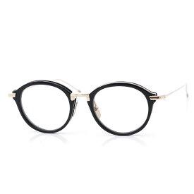 トムブラウン THOM BROWNE. 眼鏡 メガネ ブラック メンズ ギフト プレゼント tb 011 a blk gld 46 ボストン【あす楽対応_関東】【返品送料無料】【ラッピング無料】