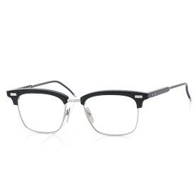 トムブラウン THOM BROWNE. 眼鏡 メガネ ブラック メンズ ギフト プレゼント tb 711 b blk slv 52 サーモント【返品送料無料】【ラッピング無料】【190704】