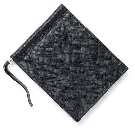プラダ PRADA マネークリップ カードケース ブラック メンズ ウォレット 財布 ギフト プレゼント 2mn077 053 f0002【あす楽対応_関東】【返品送料無料】【ラッピング無料】