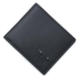 フェンディ FENDI 2つ折り 財布 ブラック メンズ 7m0169 6oc f0gxn BUGS EYES バグズ・アイ【あす楽対応_関東】【返品送料無料】【ラッピング無料】