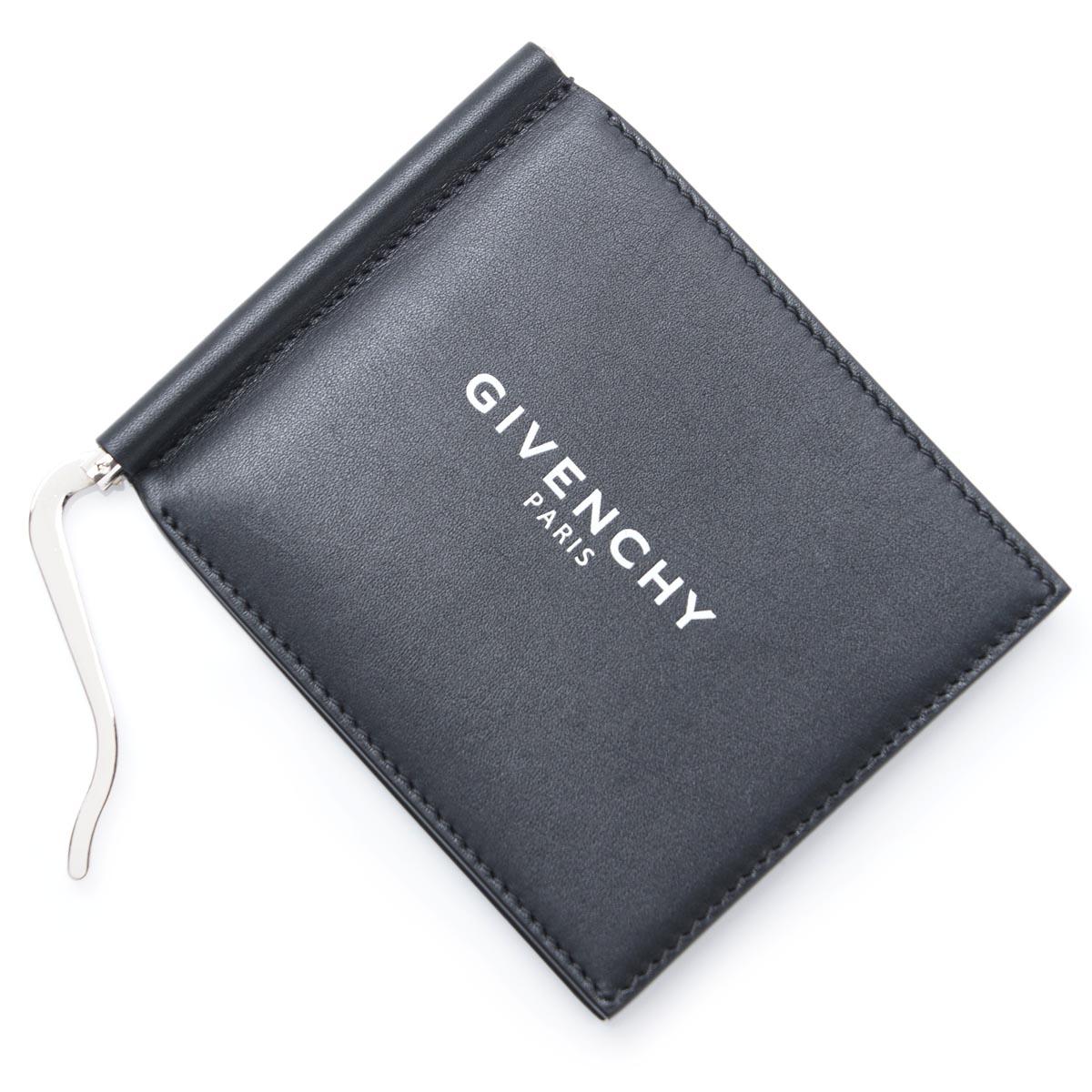 ジバンシー GIVENCHY マネークリップ 財布 ブラック メンズ ギフト プレゼント レザー 本革 bk6028k0ac 001【ラッピング無料】【返品送料無料】【あす楽対応_関東】