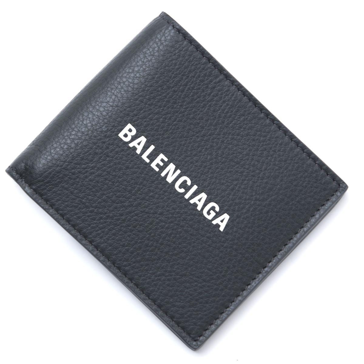 バレンシアガ BALENCIAGA 2つ折り 財布 グレー メンズ ウォレット ギフト プレゼント 485108 dlqhn 1160【ラッピング無料】【返品送料無料】【181220】【あす楽対応_関東】