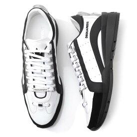 ディースクエアード DSQUARED2 スニーカー ホワイト メンズ シューズ 靴 カジュアル 大きいサイズあり snm0404 065b0001 m072 551 SNEAKERS【あす楽対応_関東】【返品送料無料】【ラッピング無料】