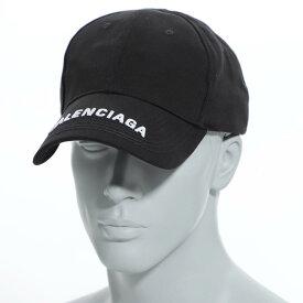 バレンシアガ BALENCIAGA キャップ ブラック メンズ ギフト プレゼント 帽子 大きいサイズあり 531588 410b2 1077 HAT LOGO VISOR【あす楽対応_関東】【返品送料無料】【ラッピング無料】【190913】