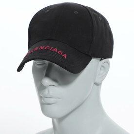 バレンシアガ BALENCIAGA キャップ ブラック メンズ ギフト プレゼント 帽子 大きいサイズあり 541400 410b2 1073 HAT LOGO VISOR【あす楽対応_関東】【返品送料無料】【ラッピング無料】【190913】
