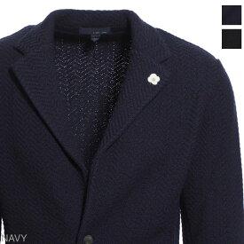 ラルディーニ LARDINI 2つボタン ニットジャケット メンズ テーラード ジャケット カジュアル illjm56 il53004 850 KNIT JACKET【あす楽対応_関東】【返品送料無料】【ラッピング無料】