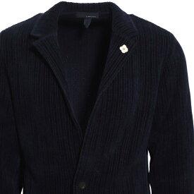 【アウトレット】ラルディーニ LARDINI 2つボタン ニットジャケット ブルー メンズ テーラード ジャケット カジュアル illjm56 il53006 850 KNIT JACKET【あす楽対応_関東】【返品送料無料】【ラッピング無料】