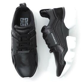 ジバンシー GIVENCHY スニーカー ブラック メンズ シューズ 靴 カジュアル bh001nh0fa 001 PERFORATED LEATHER JAW SNEAKERS【返品送料無料】【ラッピング無料】