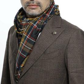 ガブリエレ パジーニ Gabriele Pasini スカーフ マルチカラー メンズ カジュアル パーティ ギフト プレゼント g14scarf1 gp14130 30 SCARF【あす楽対応_関東】【返品送料無料】【ラッピング無料】