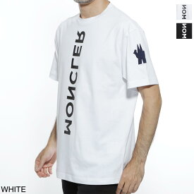モンクレール MONCLER クルーネック Tシャツ ホワイト メンズ カジュアル トップス インナー スポーツ 8001950 83927 001 GRENOBLE グルノーブル MAGLIA T-SHIRT【返品送料無料】【ラッピング無料】