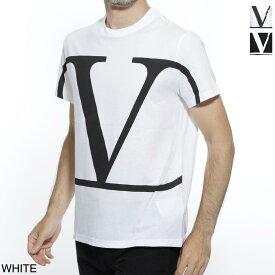ヴァレンティノガラヴァーニ VALENTINO GARAVANI クルーネック Tシャツ メンズ カジュアル トップス インナー sv3mg02t5f6 a01 V LOGO T-SHIRT【あす楽対応_関東】【返品送料無料】【ラッピング無料】