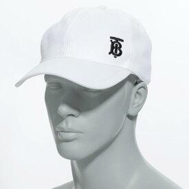 バーバリー BURBERRY ベースボールキャップ ホワイト メンズ 帽子 スポーツ 野球 カジュアル 8015883 white MONOGRAM MOTIF BASEBALL CAP【返品送料無料】【ラッピング無料】