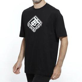 【アウトレット】【ラスト1点】バーバリー BURBERRY クルーネック Tシャツ ブラック メンズ カジュアル トップス インナー 8021831 black LOGO GRAPHIC COTTON T-SHIRT【あす楽対応_関東】【返品送料無料】【ラッピング無料】【191009】