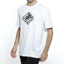 バーバリー BURBERRY クルーネック Tシャツ ホワイト メンズ カジュアル トップス インナー 8021832 white LOGO GRAPHIC COTTON T-SHIRT【返品送料無料】【ラッピング無料】【191009】