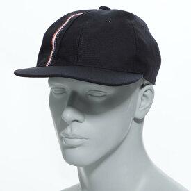 【アウトレット】トムブラウン THOM BROWNE. ベースボールキャップ ブルー メンズ 帽子 スポーツ 野球 カジュアル mhc325a 00170 415 BASEBALL CAP W OVERLAPPED RWB SELVEDGE PLACEMENT IN 3 PLY WOOL MOHAIR【あす楽対応_関東】【返品送料無料】【ラッピング無料】
