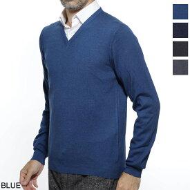 グランサッソ Gran Sasso Vネック セーター メンズ ニット カジュアル トレンド 大きいサイズあり 55115 22792 900 PULLOVER M/L VINTAGE【あす楽対応_関東】【返品送料無料】【ラッピング無料】
