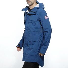 カナダグース CANADA GOOSE レインコート ブルー メンズ ライトアウター 春コート 雨具 5607m 805 SEAWOLF JACKET【返品送料無料】【ラッピング無料】