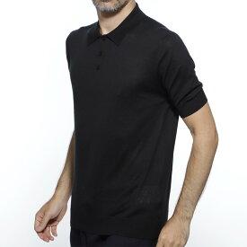 ジルサンダー JIL SANDER ニット ポロシャツ ブラック メンズ ニット カジュアル インナー 大きいサイズあり jsuo751216 moy25108 001 SWEATER PN SS【あす楽対応_関東】【返品送料無料】【ラッピング無料】【191016】