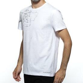 アレキサンダーマックイーン ALEXANDER McQUEEN クルーネックTシャツ ホワイト メンズ カジュアル トップス 550469 qmz67 0900【あす楽対応_関東】【返品送料無料】【ラッピング無料】