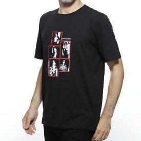 サンローランパリ SAINT LAURENT PARIS クルーネックTシャツ ブラック メンズ カジュアル プレゼント 559732 ybco2 1049【あす楽対応_関東】【返品送料無料】【ラッピング無料】