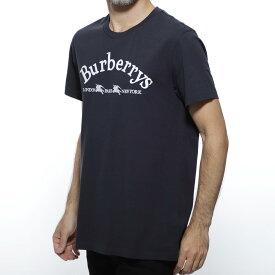 バーバリー BURBERRY クルーネック Tシャツ ブルー メンズ カジュアル トップス インナー 8002954 navy PAIRI ABTOT【あす楽対応_関東】【返品送料無料】【ラッピング無料】