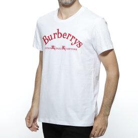 バーバリー BURBERRY クルーネック Tシャツ ホワイト メンズ カジュアル トップス インナー 8002955 white PAIRI ABTOT【あす楽対応_関東】【返品送料無料】【ラッピング無料】