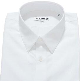 ジルサンダー JIL SANDER 長袖 シャツ ドレスシャツ ホワイト メンズ インナー ビジネス jsuo740626 mo244300 100 R-BEATA SL【あす楽対応_関東】【返品送料無料】【ラッピング無料】
