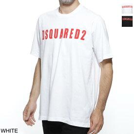 ディースクエアード DSQUARED2 クルーネックTシャツ メンズ コットン 綿 s74gd0472 s20694 100【あす楽対応_関東】【返品送料無料】【ラッピング無料】
