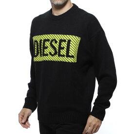 ディーゼル DIESEL クルーネック セーター ブラック メンズ ニット カジュアル トレンド k logox c 00syn4 0aawc 900 K-LOGOX-C【あす楽対応_関東】【返品送料無料】【ラッピング無料】