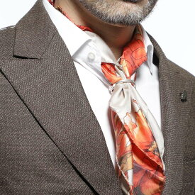 ガブリエレ パジーニ Gabriele Pasini スカーフリング シルバー メンズ スカーフ メンズ ギフト プレゼント g14clip4 gpc106 960 SPILLA FERMAFOULARD【あす楽対応_関東】【返品送料無料】【ラッピング無料】